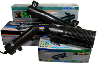 SunSun Compact UV Sterilizers for Aquarium or Pond